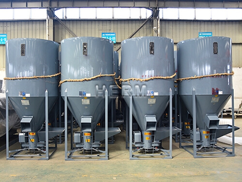 vertical feed mixer, feed processing machines