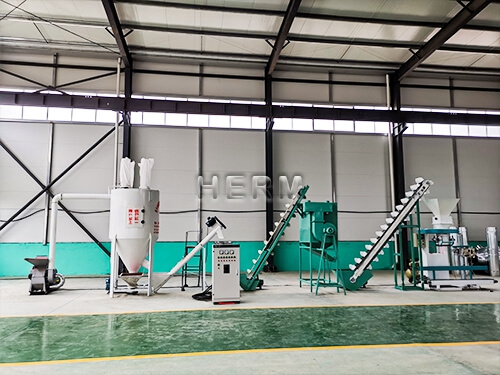 animal feed production line for sale