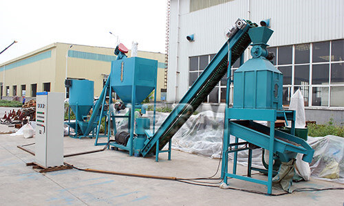 animal feed production line price