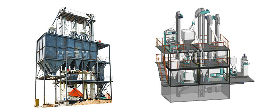 feed pellet production line design