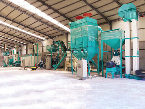 fish feed production plant for sale