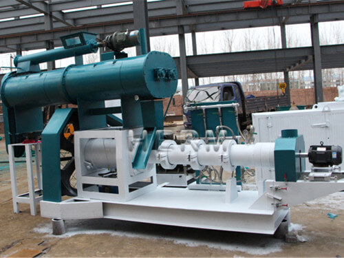 type floating fish feed making machine cost
