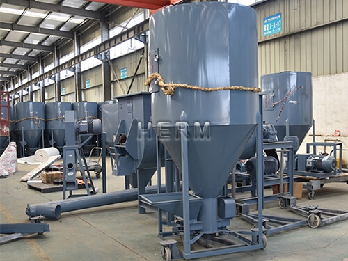 vertical feed mixer for sale, feed mill production lines