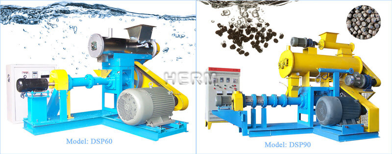 wet type floating fish feed machine for sale