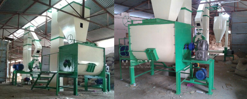 cattle feed plant mixer