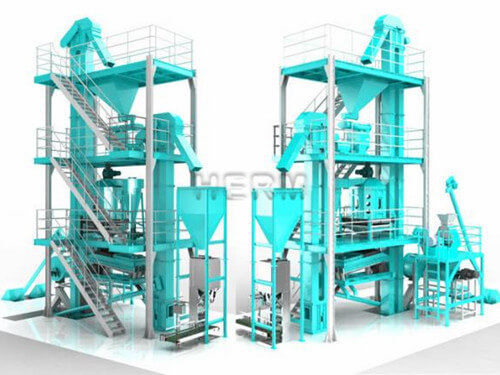 Complete Feed Pellet Plant for Poultry and Livestock
