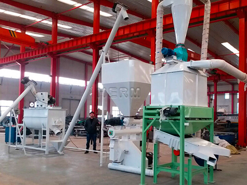 2T/H Feed Pellet Plant for Poul