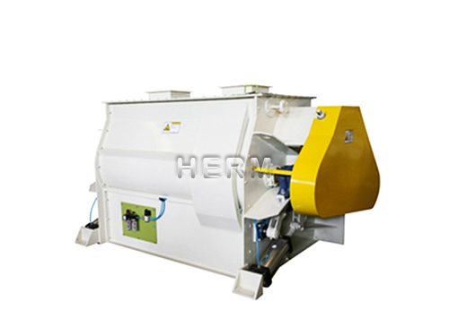Double Shaft Feed Mixer