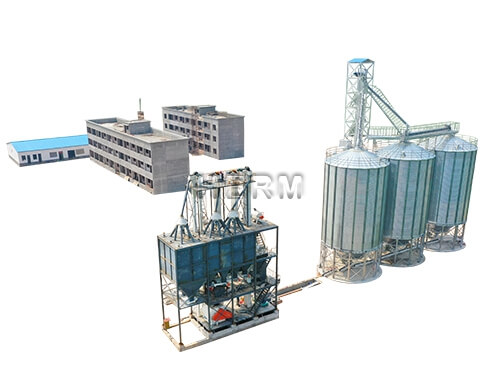 Complete Feed Pellet Plant for