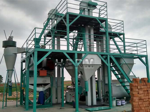 Cattle Feed Pellet Plant